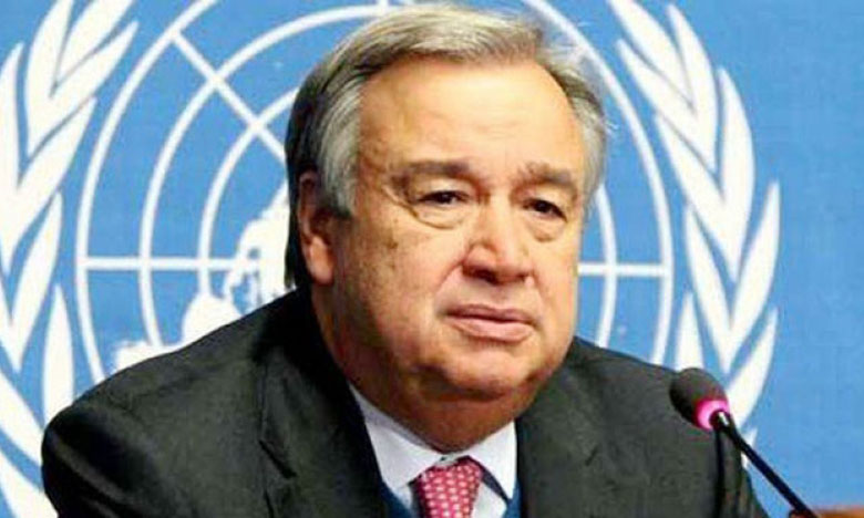 Le S.G. Antonio Guterres adresse  un message à l'occasion de la Journée des Nations unies