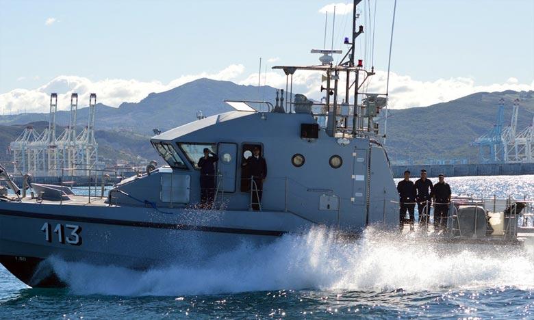 Les assaillants ont jeté leurs cargaisons à la mer avant de prendre la fuite à grande vitesse vers le large, 31 ballots de chira d'un poids estimé à une tonne de la cargaison récupérée. Ph : DR
