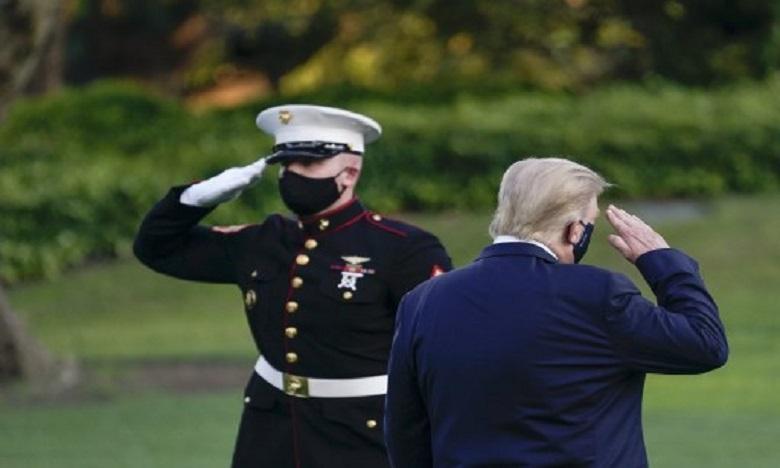 """Trump : """"Je pense que je vais très bien"""""""