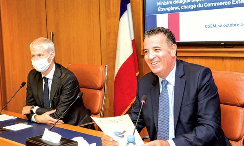 Le Maroc et la France souhaitent promouvoir leur partenariat  dans les secteurs d'avenir