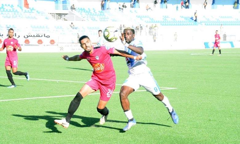 Le Gabonais Axel Meye renforce la ligne d'attaque de l'équipe d'Ittihad Riadi de Tanger (IRT), pour trois saisons. Ph : DR
