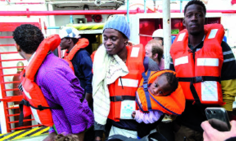 Une experte de l'ONU condamne la criminalisation  du secours aux migrants