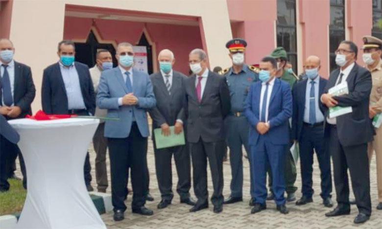Le lancement de la campagne de sensibilisation des agriculteurs de la région du Gharb s'est déroulée en présence des représentants des autorités locales et de l'ensemble des parties prenantes.