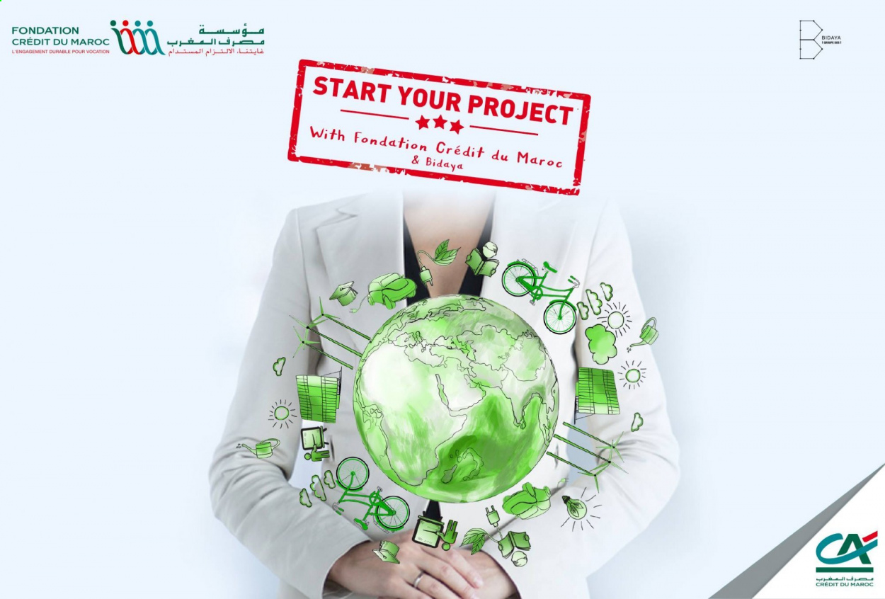 Franc succès de la 2e édition «Start Your Project with Fondation Crédit du Maroc & Bidaya»