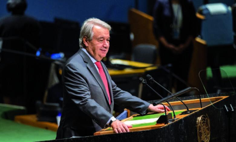 Antonio Guterres : «Les femmes sont les plus exposées»