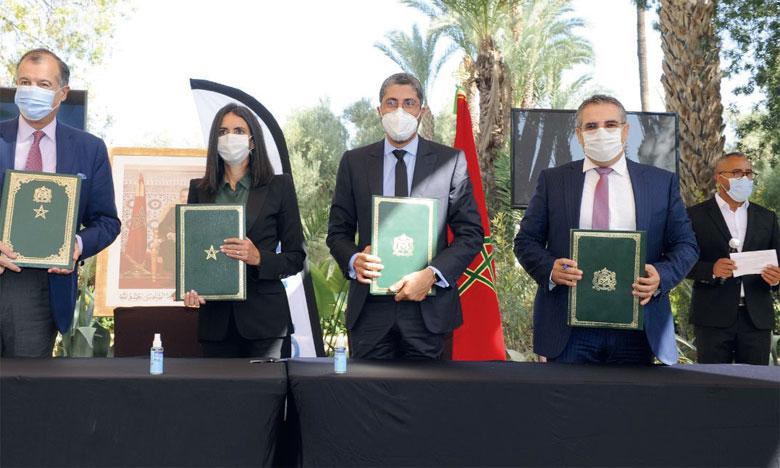 Club Med et Madaëf ont signé un accord le 19 octobre à Marrakech.