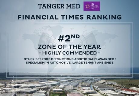 Infrastructures: la plateforme industrielle de Tanger Med classée 2e au monde par le Financial Times