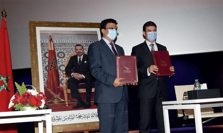 Signature d'un accord entre l'UM6P et la province de Rehamna