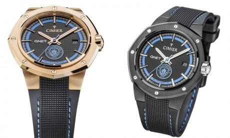QNET et  Manchester City lancent une nouvelle collection de montres suisses