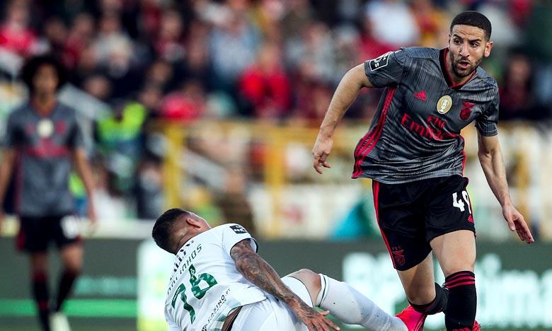 À la faveur des bonnes performances du joueur à ce poste, Benfica a renouvelé sa confiance à travers ce nouveau contrat. Ph : AFP