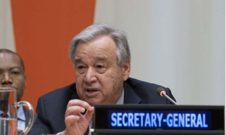 Antonio Guterres : «La Covid-19 montre qu'une couverture sanitaire universelle est indispensable»