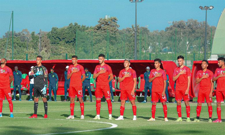 Les lionceaux en stage de préparation au complexe Mohammed VI de football