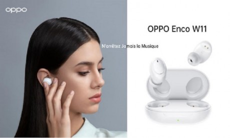 OPPO: Les écouteurs sans fil Enco W11 battent les records
