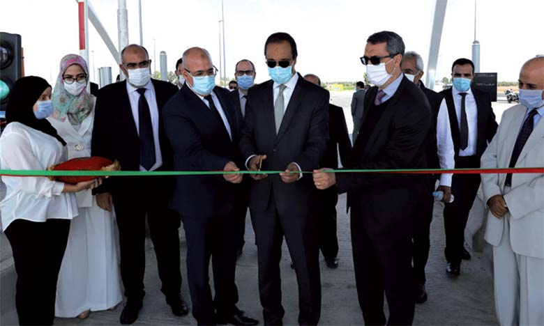 Inauguration de deux gares de péage nouvelle génération