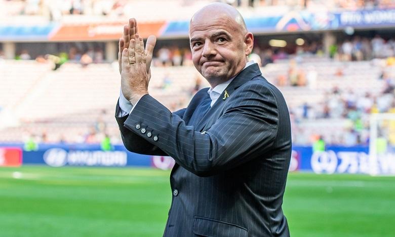 Le président de la Fifa Gianni Infantino positif au Covid-19