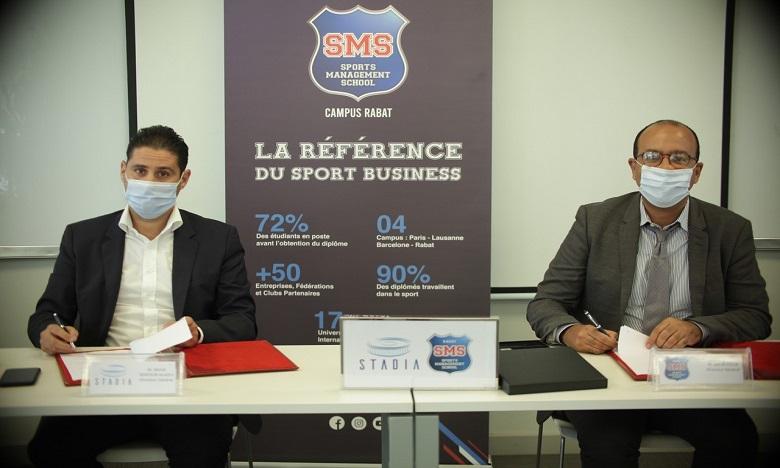 Stadia scelle un partenariat académique avec Sports Management School