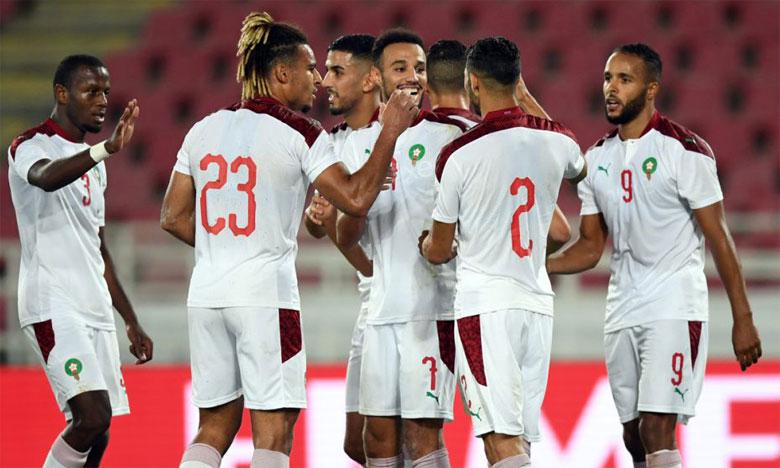 Les Lions de l'Atlas ont gagné quatre place grâce à leur victoire sur le Sénégal et le match nul face à la RD Congo.