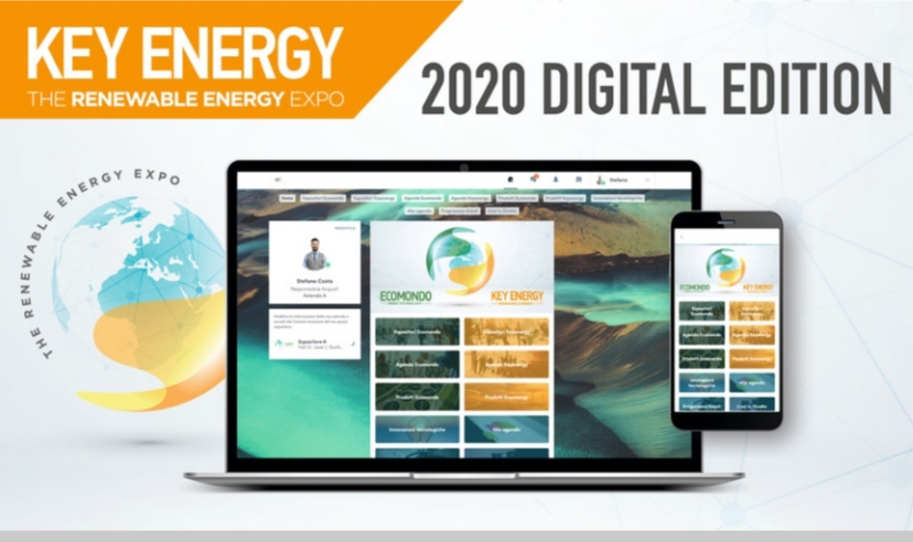 Ecomondo & Key Energy : Création de la digital double green week