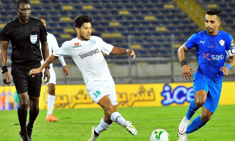 Le Raja doit se montrer plus efficace offensivement pour renverser la vapeur au match retour face au Zamalek.
