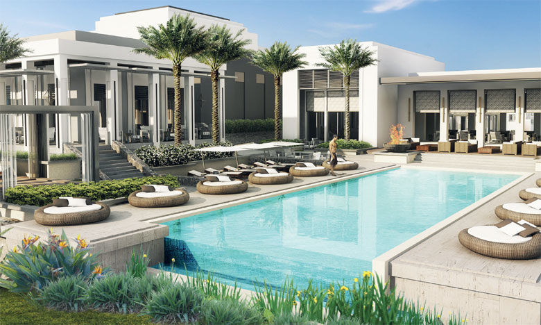 Doté de 120 chambres « spacieuses », le Conrad Rabat Arzana offrira une vue spectaculaire sur l'océan.