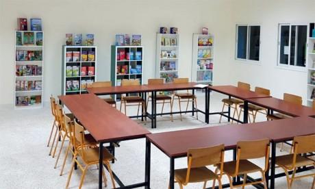 Une bibliothèque pour l'école publique Sidi Abdellah
