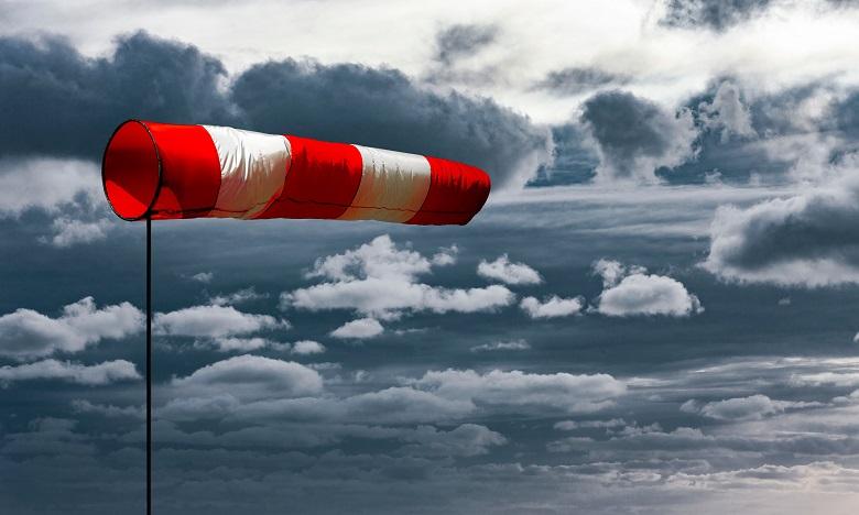 Alerte météo: Fortes rafales de vent mardi dans plusieurs provinces du royaume