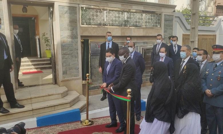 Inauguration d'un consulat général de la République de Zambie à Laâyoune