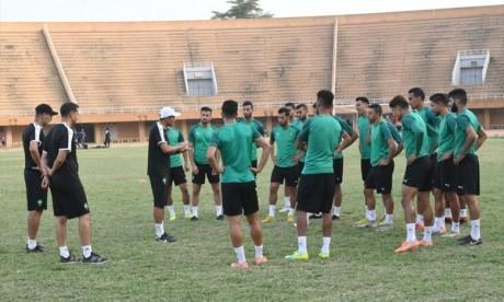 CHAN  :   Les joueurs locaux s'entraînent à Maâmoura