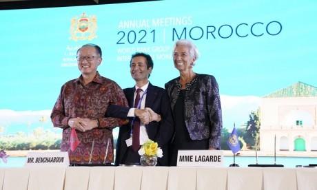 Covid-19: Report à 2022 des réunions au Maroc du FMI et de la Banque mondiale
