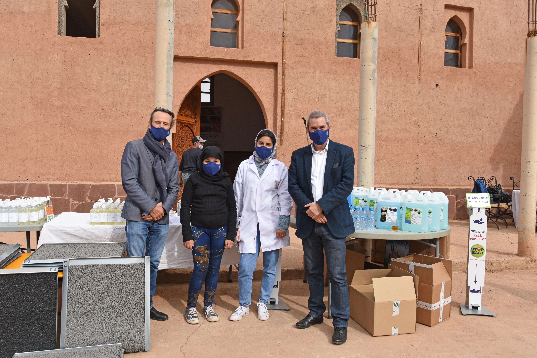 Les enfants de Dar Bouidar  bénéficieront de matériel d'hygiène