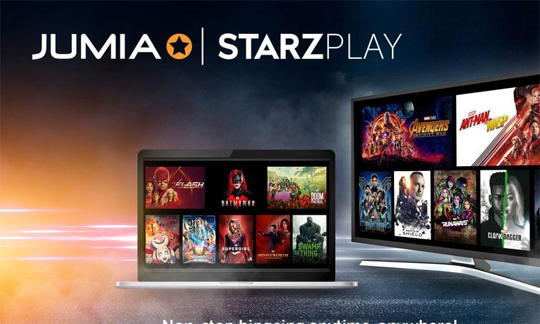 Starzplay offre ses services  aux clients Jumia prime