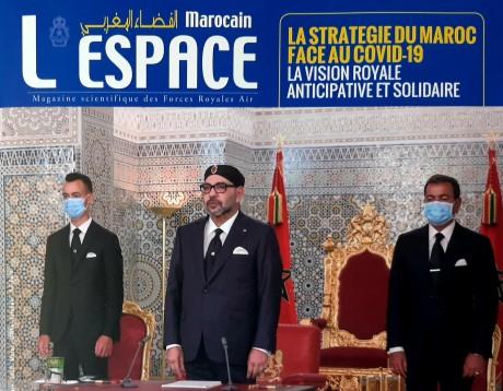 """Parution d'un nouveau numéro du magazine """"L'Espace Marocain"""" des Forces Armées Royales"""