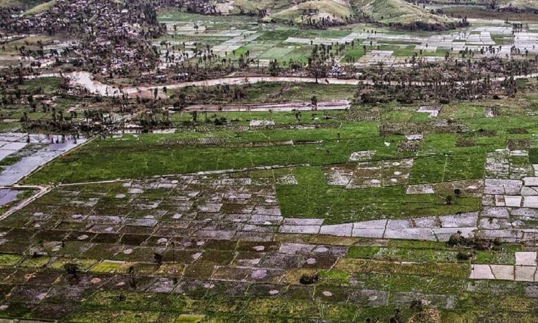 Seulement 5% de la finance est accordée à l'adaptation qui constitue le 2e volet de la lutte contre le changement climatique. Ph. ONU