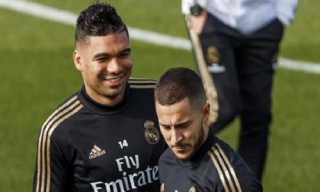 Real Madrid: Hazard et Casemiro testés positifs au Covid-19