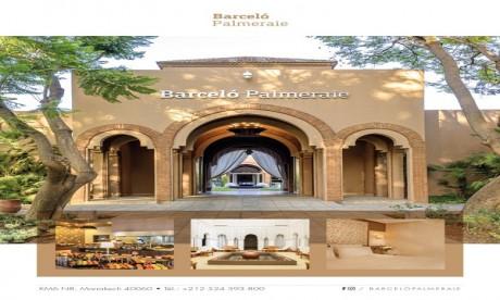 Barceló Palmeraie, meilleur hôtel « All inclusive » au Maroc