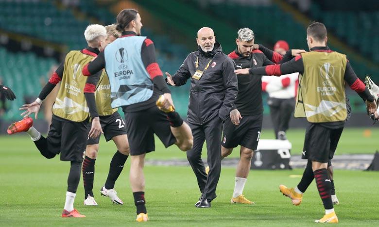 L'AC Milan a annulé son entraînement prévu samedi mais a prévu de préparer le déplacement à Naples le 22 novembre à partir de lundi. Ph : AFP