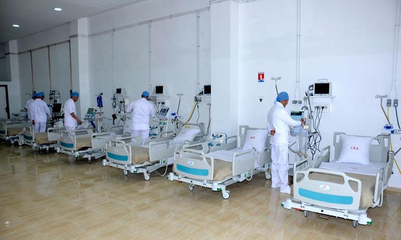 Pandémie: Agadir se dote d'un hôpital de campagne