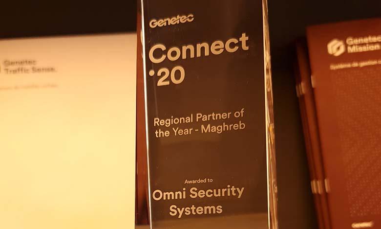 Le distributeur marocain de solutions de sécurité électronique, Omni Security System a reçu le trophée Added Value Distributor (distributeur à forte valeur ajoutée) du constructeur canadien Genetec,