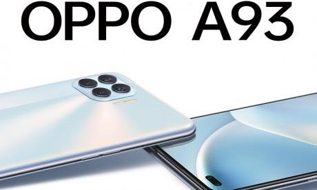 Le nouveau OPPO A93 disponible au Maroc