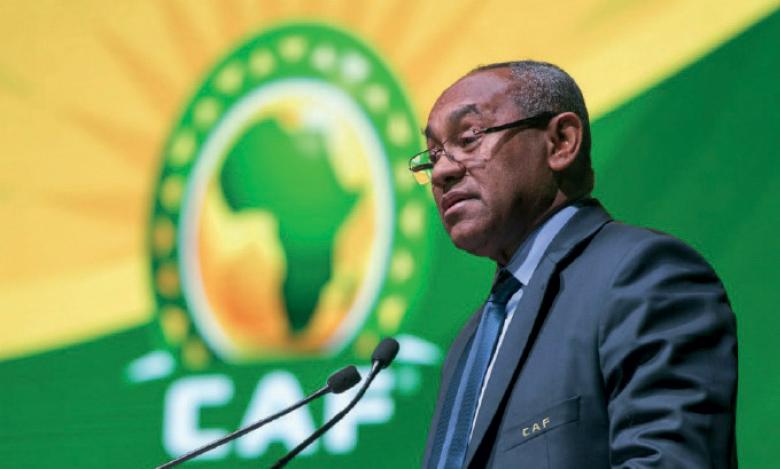 Le président de la CAF suspendu cinq ans par la FIFA