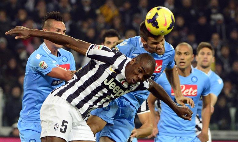 La Supercoupe d'Italie a été reprogrammée au 20 janvier à Reggio d'Emilie, après deux éditions. Elle se jouera entre la Juventus Turin, vainqueur de la Serie A, et Naples, vainqueur de la Coupe. Ph : AFP