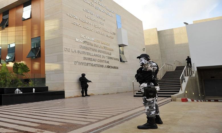 Démantèlement d'une cellule terroriste s'activant à Inzegane et Ait Melloul