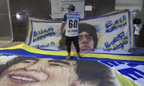 Football: Diego Maradona opéré avec succès d'un hématome à la tête