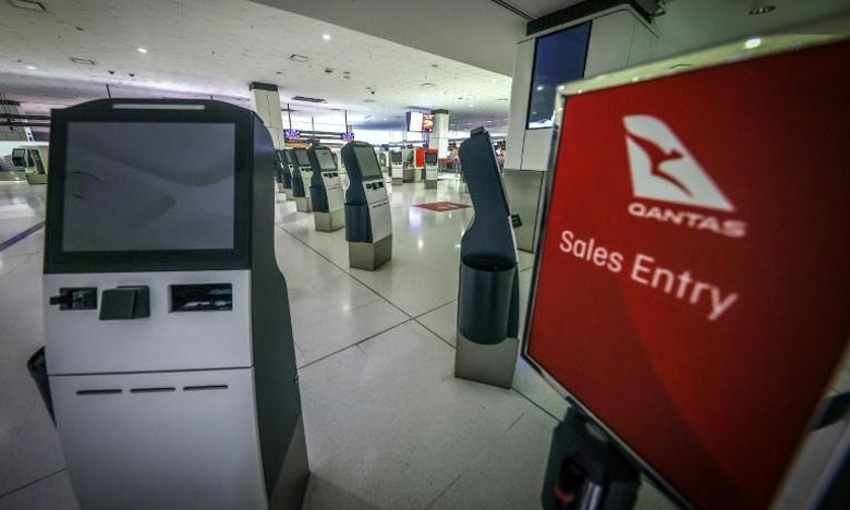 Vols internationaux :  Qantas exigera la vaccination de ses passagers