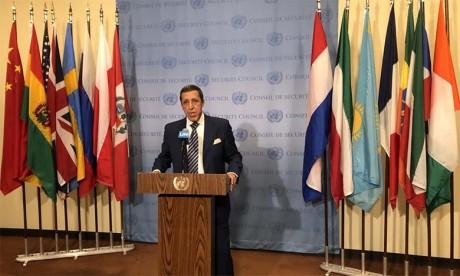 L'ambassadeur Omar Hilale rappelle que le Sahara a été marocain depuis l'aube des temps et qu'il restera marocain jusqu'à la fin des temps