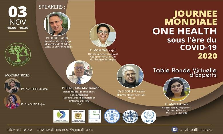 One Health Maroc célèbre la Journée Mondiale One Health et rassemble les experts