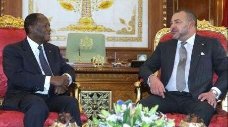 El Guerguarat : Le Président ivoirien assure S.M. le Roi de la solidarité et du plein soutien de son pays aux initiatives du Souverain