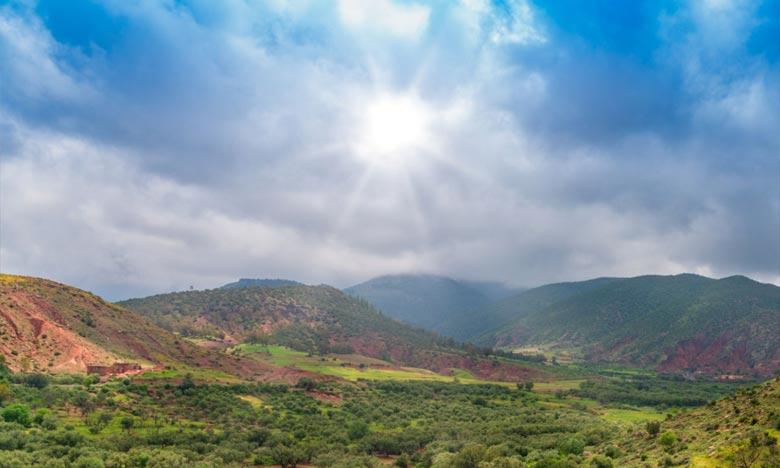 La DGM prévoit pour la journée de ce  samedi, des nuages cumuliformes sur le Moyen Atlas avec ondées éparses. Ph : DR 31_10_2020_Meteo