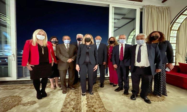 La Secrétaire d'État adjointe américaine explore les moyens d'élargir les opportunités d'échange culturel entre les États-Unis et le Maroc, en particulier dans le domaine de la préservation historique. Ph : DR