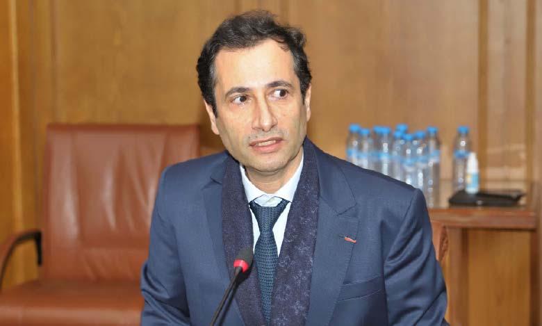 Le ministre de l'Économie, des finances et de la réforme de l'administration, Mohamed Benchaâboun.